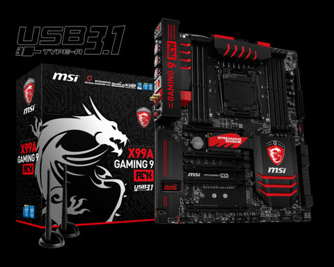 MSI X99A Gaming 9 ACK USB 3.1 Motherboard