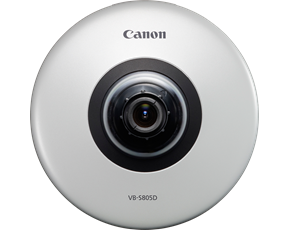 Canon VB-S805D 1.3MP Indoor Compact Fixed Dome Security Camera