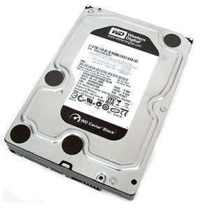 Western Digital Black 500GB 7200 SATA 6Gb/s Internal Hard Drive