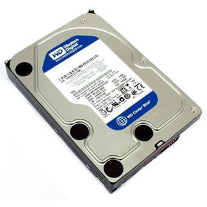 Western Digital Blue 500GB 7200 SATA 6Gb/s Internal Hard Drive