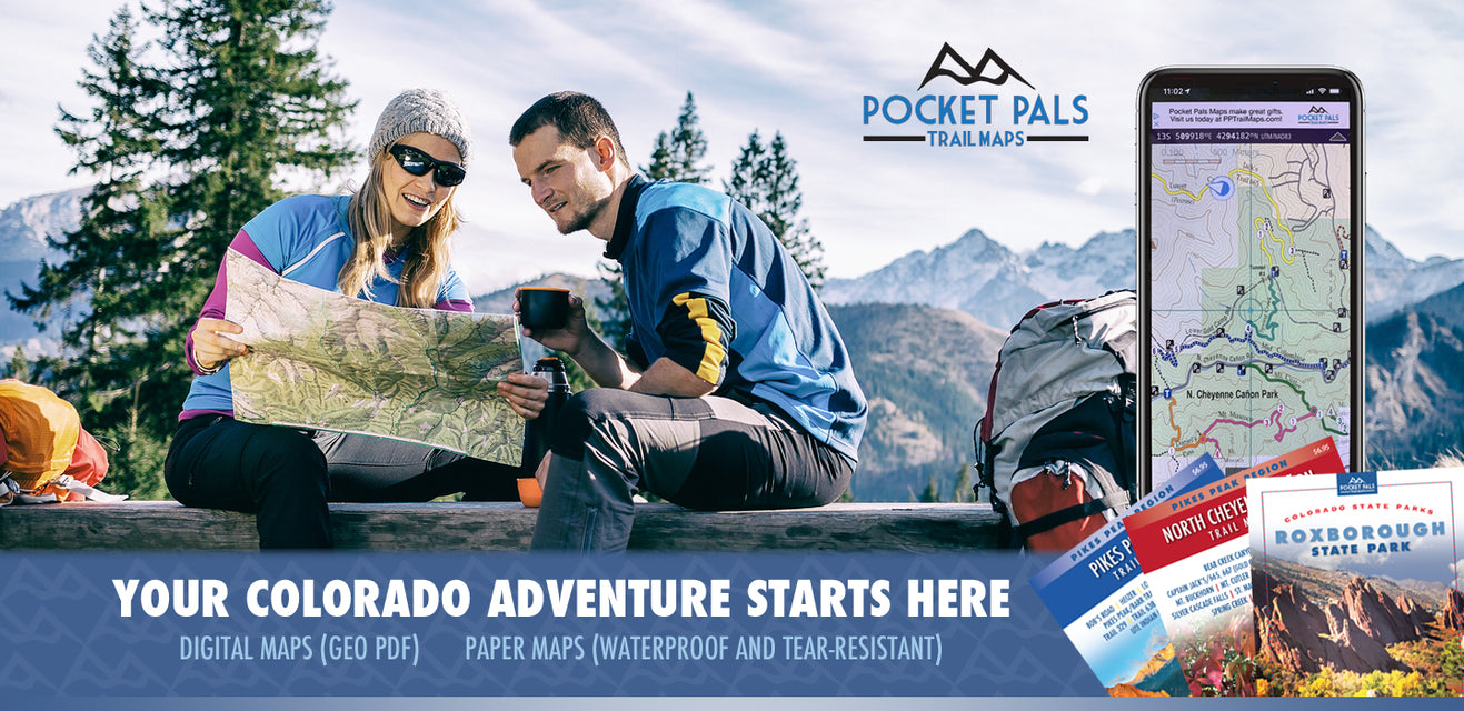 Pocket Pals Trail Maps - For All of Your Colorado Adventures