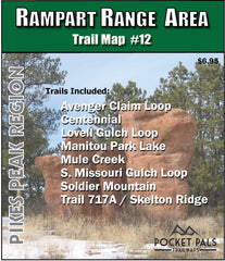 Rampart Range - Colorado - Trail Map
