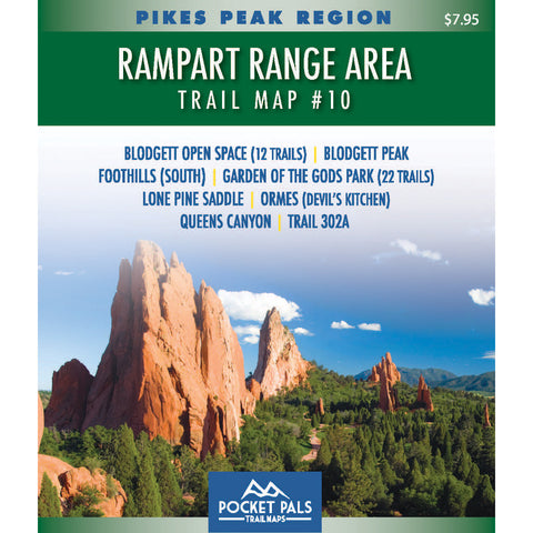 Garden of the Gods Park -  Trail Map