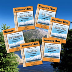 Colorado 14er Maps for the Front Range