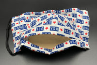 Patriotic USA Print Unisex Cotton Face Mask with Filter Pocket (Adult Size)