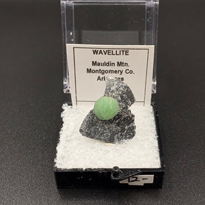 Wavellite #1 Thumbnail Specimen (Arkansas, USA)