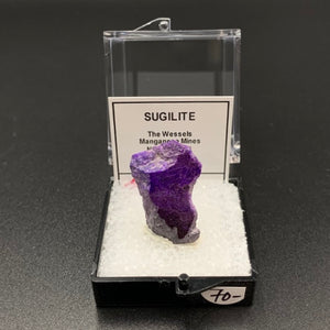 Sugilite #10 Thumbnail Specimen (The Wessels, South Africa)