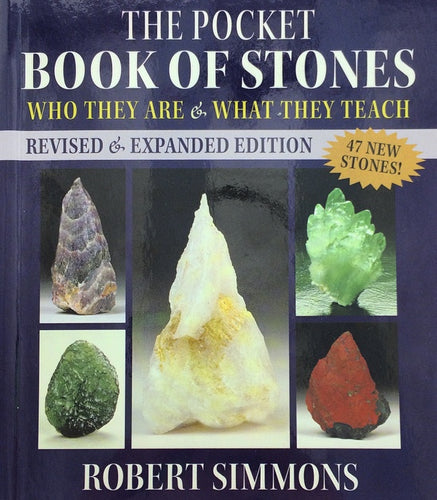 The Pocket Book of Stones by Robert Simmons (Pocket Sized Healing/Metaphysical Properties Book)