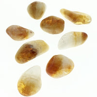 Citrine (1) Polished Tumbled Stone (Heat Enhanced)
