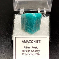 Amazonite #1 Microcline Feldspar Thumbnail Specimen (Lake George, CO)