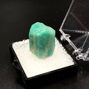 Amazonite #2 Microcline Feldspar Thumbnail Specimen (Lake George, CO)
