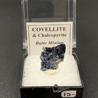 Covellite #4 Thumbnail Specimen (Butte District, Montana, USA)
