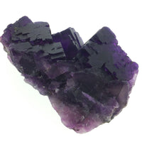 Fluorite Purple Cubic Crystals XL Cabinet Unpolished Crystal Cluster Cave-in-Rock Illinois USA