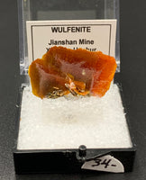 Wulfenite #2 (Jianshan, China)