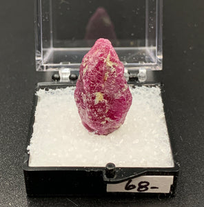Ruby #8 Raw Thumbnail Specimen (John Saul Mine, Kenya)