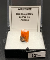Wulfenite #9 (Red Cloud Mine, Arizona, USA)