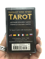 Radiant Wise Spirit Tarot Cards Mini Deck in a Box (Pocket Sized Travel Tarot Deck)
