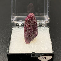 Ruby #6 Raw Thumbnail Specimen (Kangayam, India)