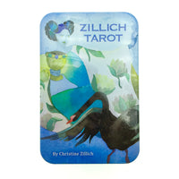 Zillich Tarot Cards Small Deck in a Tin (Pocket Sized Travel Tarot Deck)