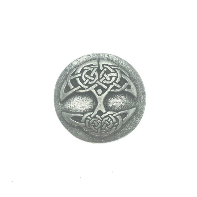Tree of Life Blessings Pocket Charm Lead-free Pewter Stone