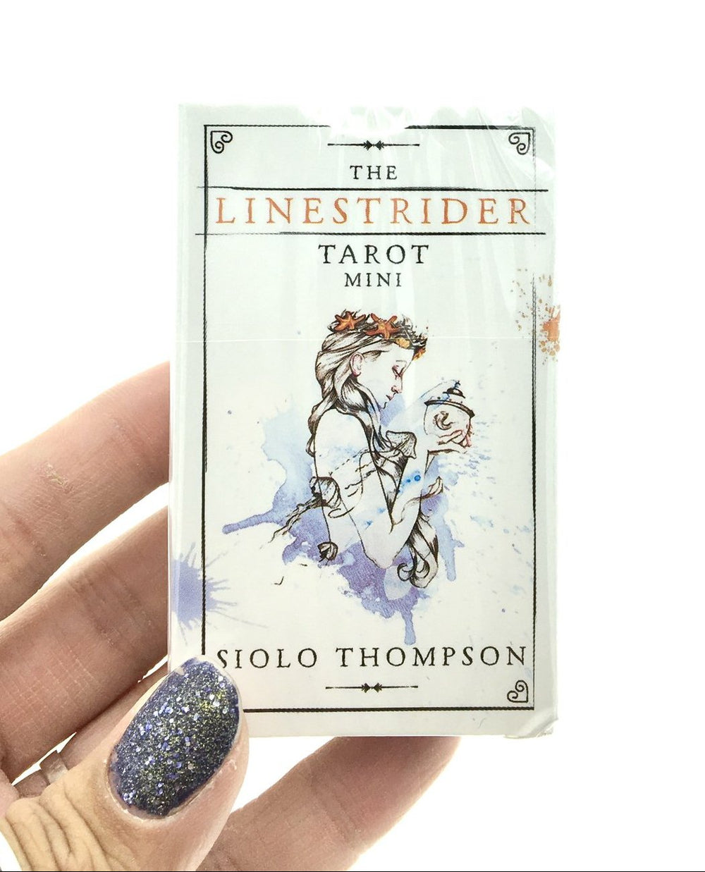 Linestrider Tarot Cards Mini Deck (Pocket Sized Travel Tarot Deck)