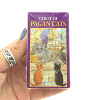Tarot of Pagan Cats Tarot Cards Mini Deck (Pocket Sized Travel Tarot Deck)