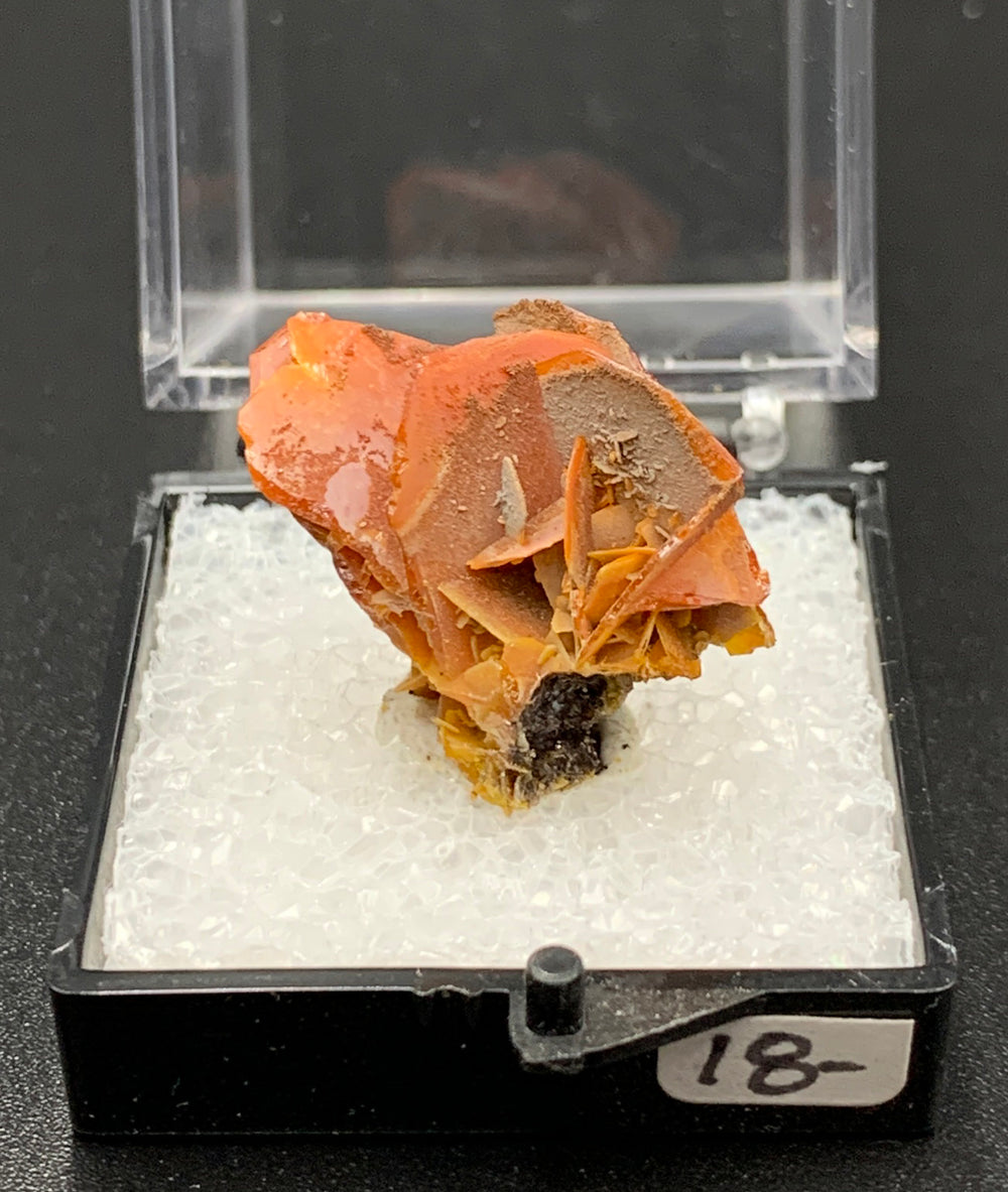 Wulfenite #1 (Jianshan, China)