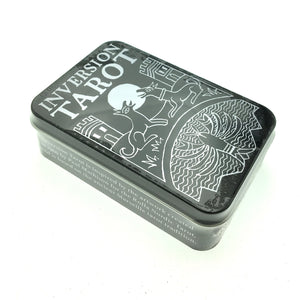 Inversion Tarot Cards Small Deck in a Tin (Pocket Sized Travel Tarot Deck)