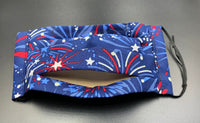 Patriotic Print Cotton Face Mask with Filter Pocket (Adults & Kids Size Options)