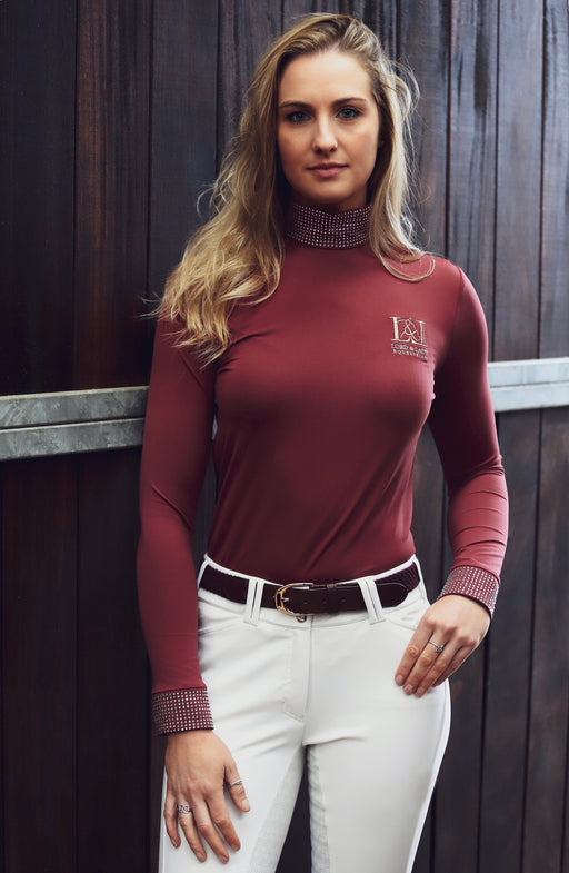 Rolanda Baselayer - Burgundy SOLD OUT