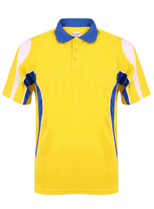 Rio Polo Gazelle Sports UK Yes XS Col A) Yellow/ Royal/ White