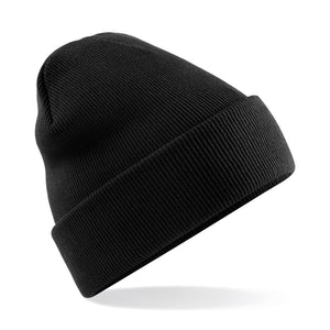 Original Cuffed Beanie by Beechfield BC045 Gazelle Sports UK Yes Black