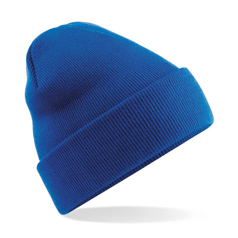 Original Cuffed Beanie by Beechfield BC045 Gazelle Sports UK Yes (Minimum 10) Royal