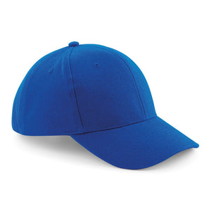 Pro style heavy brushed Cotton Baseball Cap BC065 Gazelle Sports UK Yes (Minimum 20) Royal