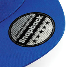 Load image into Gallery viewer, BC610 5 panel Snapback by Beechfield Gazelle Sports UK