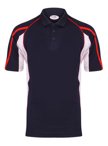 Teamstar Polo Kids Gazelle Sports UK Yes Col B) Navy/ Red/ White XSB