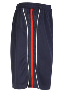 Teamstar Shorts Gazelle Sports UK Yes XS Col B) Navy/ Red/ White