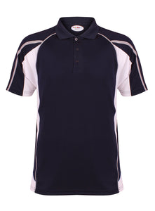 Teamstar Polo Kids Gazelle Sports UK Yes Col C) Navy/ White/ Dove Grey XSB