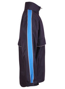 Training Jacket Gazelle Sports UK Yes XS Col C) Navy/ Marine Blue/ White
