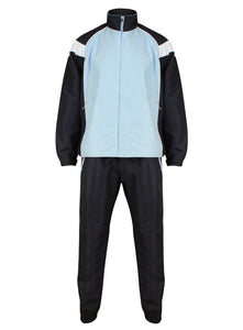 Championship Tracksuit Kids Clearance Gazelle Sports UK SB Col C) Navy/ Pale Blue/ White