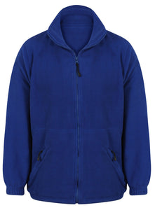 Fleece Jacket Gazelle Sports UK Yes XS Royal Blue