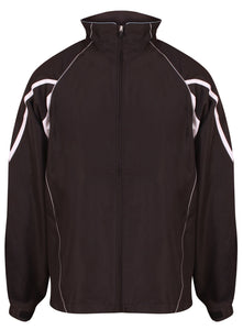 Teamstar Track Jacket Gazelle Sports UK Yes XS Col D) Black / Dove Grey / White
