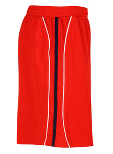 Teamstar Shorts Gazelle Sports UK Yes XS Col L) Red/ Black/ White