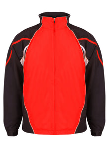 Teamstar Track Jacket Gazelle Sports UK Yes XS Col H) Black /Red / White