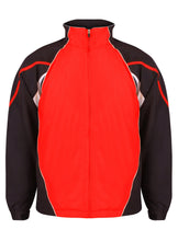 Load image into Gallery viewer, Kids Teamstar Track Jacket Gazelle Sports UK Yes XSB Col H) Black /Red / White