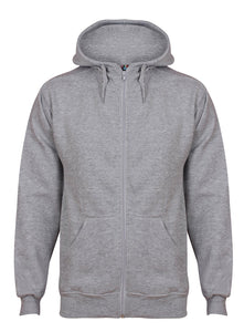 Aran Zip through Hoody Sweatshirts / Hoodies Gazelle Sports UK Yes XS Grey