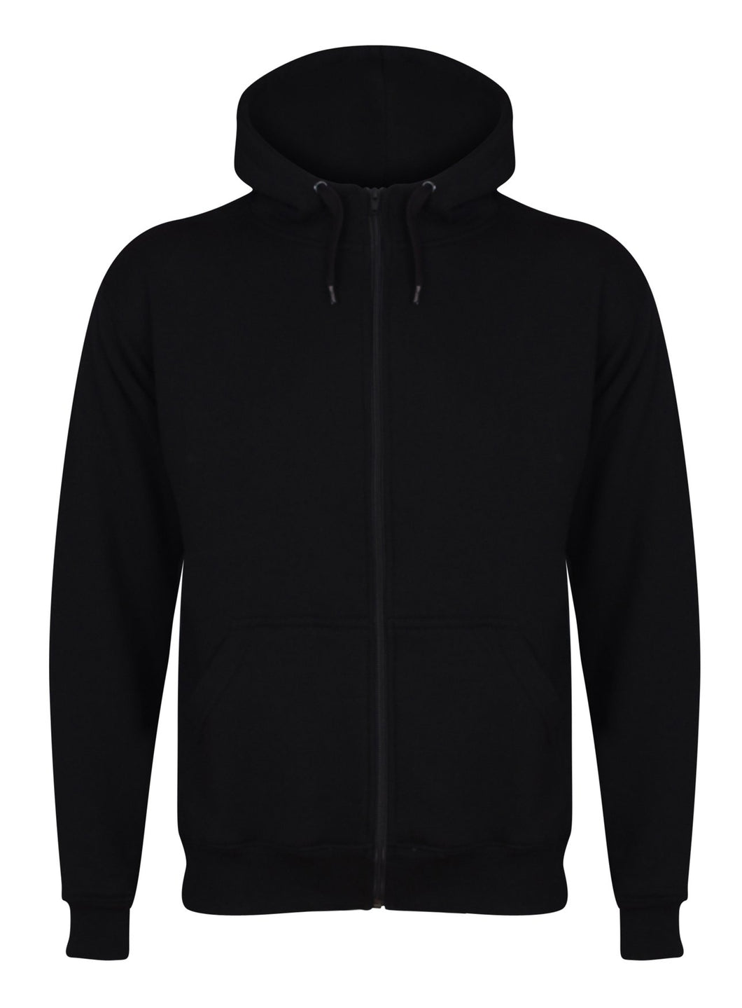 Aran Zip through Hoody Sweatshirts / Hoodies Gazelle Sports UK Yes XS Black