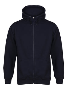 Aran Zip through Hoody Sweatshirts / Hoodies Gazelle Sports UK Yes XS Navy