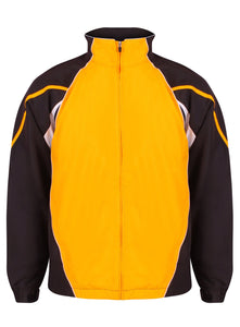 Teamstar Track Jacket Gazelle Sports UK Yes XS Col I) Black / Amber / White