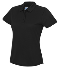 Load image into Gallery viewer, Womens Just Cool Polo JC045 Gazelle Sports UK XS/8 Black Yes